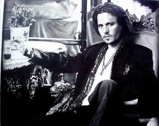 Johnny Depp by Domine
